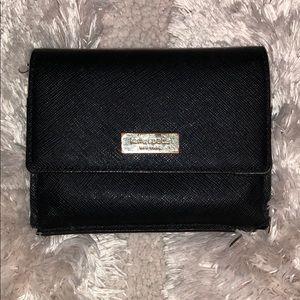 Black Kate Spade Wallet with key ring
